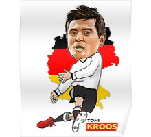 Kroos Caricature Poster