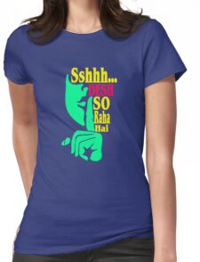 Desh So Raha Hai Funny Geek Nerd Womens Fitted T-Shirt