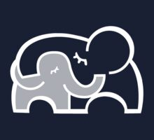 Elephant hugs  Kids Tee