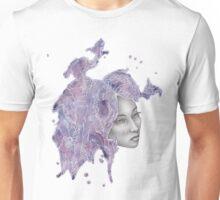 Strange Lady - Purple Unisex T-Shirt