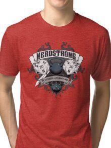 Nerdstrong Gym - Rollin' 20's Tri-blend T-Shirt
