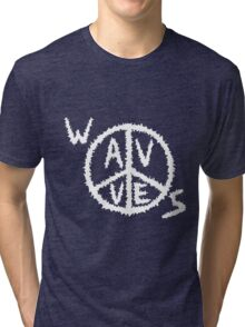 Wavves Band Merch Tri-blend T-Shirt