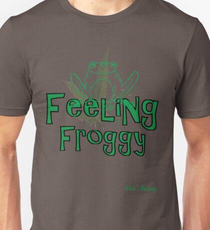 FEELING FROGGY Unisex T-Shirt