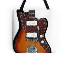Fender Jaguar two tone tobacco Tote Bag
