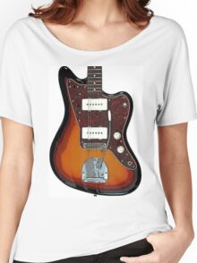 Fender Jaguar two tone tobacco Women's Relaxed Fit T-Shirt
