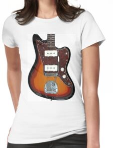 Fender Jaguar two tone tobacco Womens Fitted T-Shirt