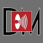 Depeche Mode - Music For The Masses Logo 4 Black DM by Luc Lambert