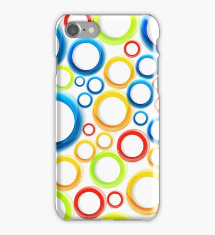 Organic pattern with bubbles iPhone Case/Skin