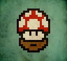 Bearded mushroom by BeardyGraphics