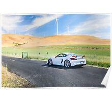 Porsche Cayman GT4 Poster