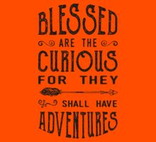 Blessed Are the Curious Kids Tee
