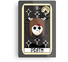 Death (Tarot Card II) Metal Print