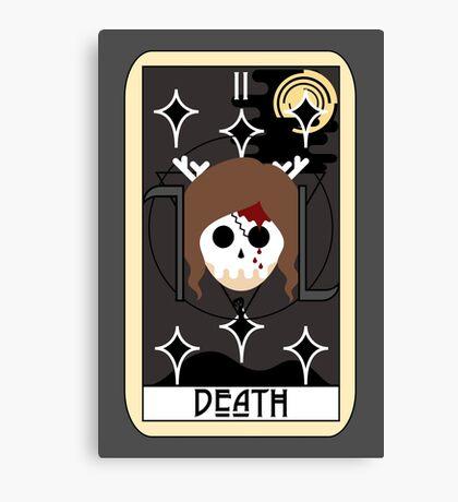 Death (Tarot Card II) Canvas Print