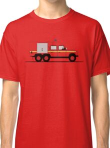 A Graphical Interpretation of the Defender 110 6X6 Fire Engine Classic T-Shirt