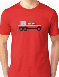 A Graphical Interpretation of the Defender 110 6X6 Fire Engine Unisex T-Shirt