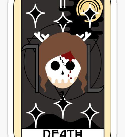 Death (Tarot Card II) Sticker