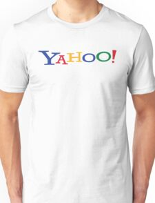 Google? Yahoo? Unisex T-Shirt
