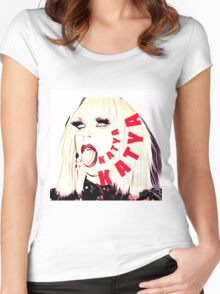 Katya, Women's Fitted Scoop T-Shirt