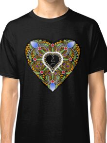 I love you (black heart) Classic T-Shirt