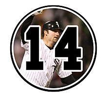 Paul Konerko Chicago White Sox Number 14 Photographic Print