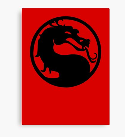 Mortal Dragon Canvas Print