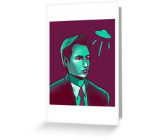 The X-Files Fox Mulder Design Greeting Card