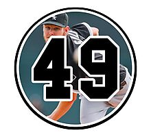 Chris Sale Chicago White Sox Number 49 Photographic Print