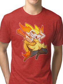 #654 - Braixen Tri-blend T-Shirt