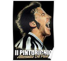 Il pinturichio - Alessandro Del Piero Poster