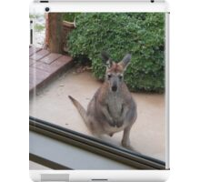 Taking a look through the big front window! Young Joey. 'Arilka'.  iPad Case/Skin