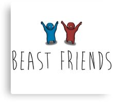 Beast Friends Canvas Print