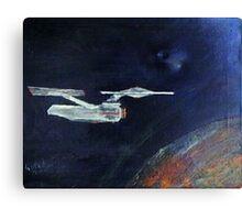 Starship Enterprise - from  Star Trek (TOS) Canvas Print