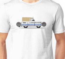 A Graphical Interpretation of the Defender 90 Soft Top (The Floating Ninety) Unisex T-Shirt
