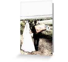 Just Married... Free State, South Africa Greeting Card