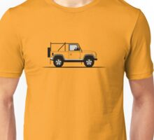A Graphical Interpretation of the Defender 90 NAS Soft Top Unisex T-Shirt