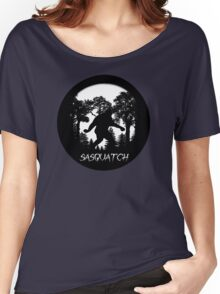 Sasquatch Silhouette  Women's Relaxed Fit T-Shirt