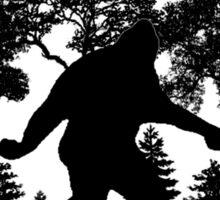 Sasquatch Silhouette  Sticker