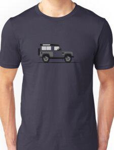 A Graphical Interpretation of the Defender 90 Station Wagon Kahn Design Wide Track Unisex T-Shirt