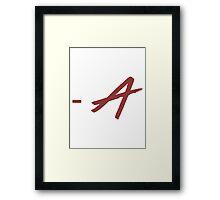 - A Framed Print