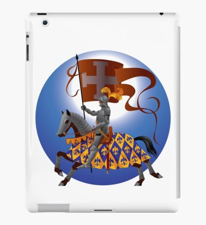 Knight with a standard iPad Case/Skin