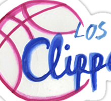 Los Angeles Clippers design Sticker