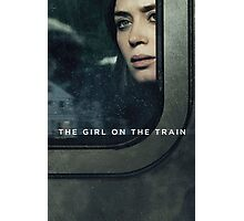 look outside girl on the train  Photographic Print