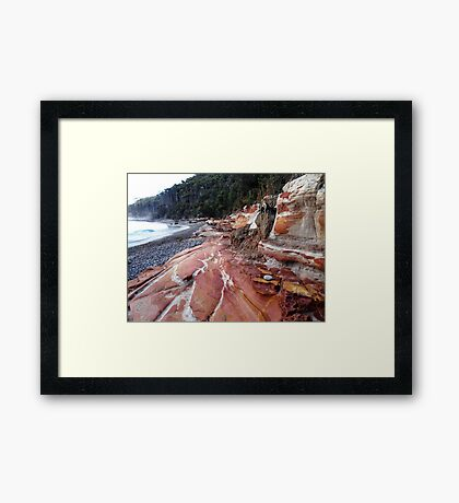 Pebbly Beach New South Wales Framed Print