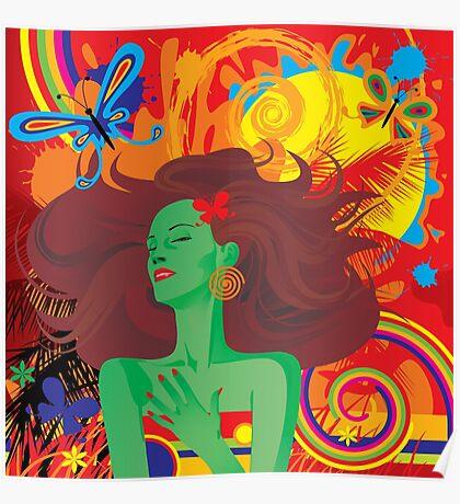 Tropical motive Poster