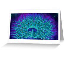 Mushroom Spirit BG Greeting Card