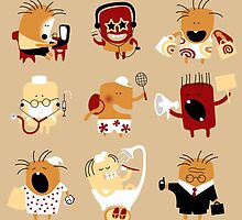 People icon set by maystra