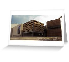 Palau de Congressos Greeting Card