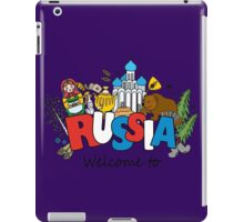 Welcome to Russia. Russian symbols iPad Case/Skin