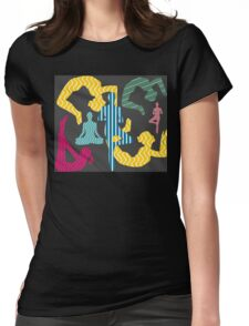 Psychedelic Fitness Womens Fitted T-Shirt