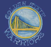 Golden State Warriors design by nbatextile